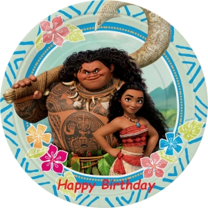 moana birthday birthday cards