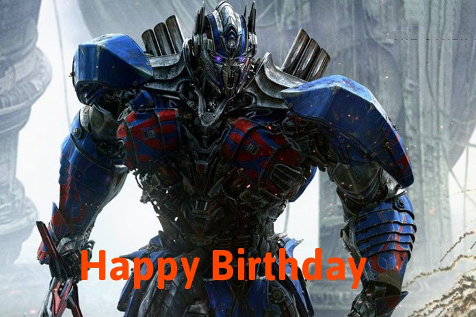 Transformers birthday cards