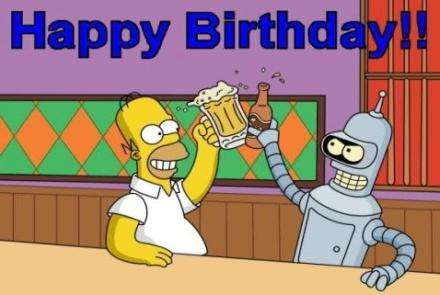 homer-simpsom birthday birthday cards