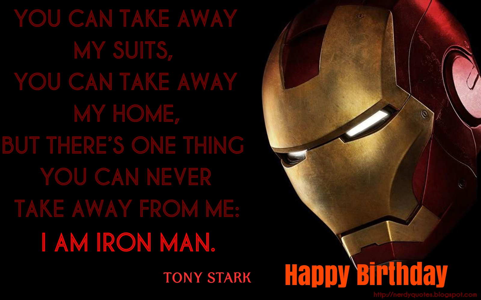 iron man birthday cards