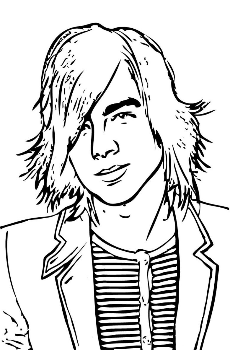 jonas brothers Coloring Pages