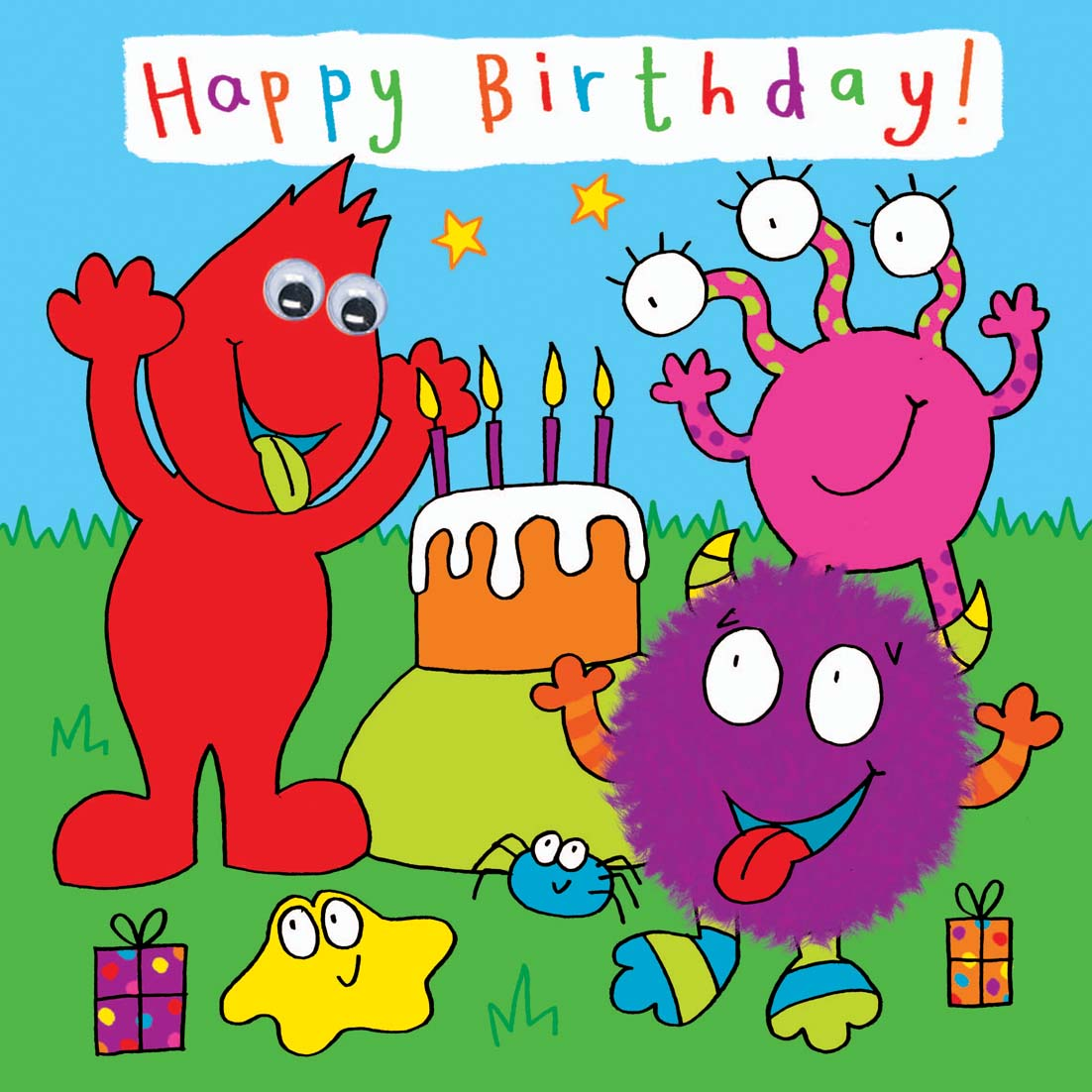 Kids Birthday Cards – Birthday Cards for Kids