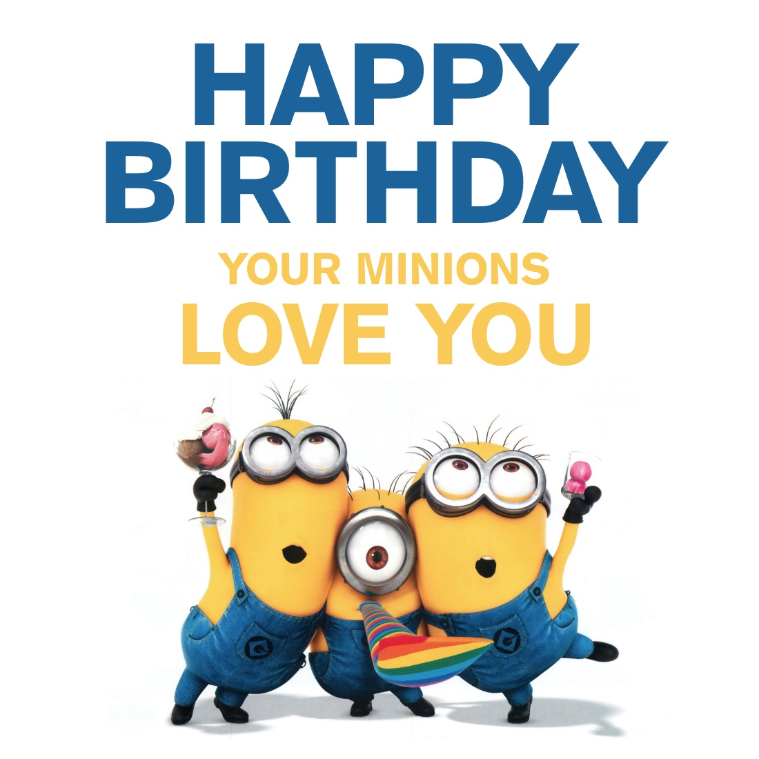 Delightful Minionsbirthday Birthday Cards Minionsbirthday Birthday Cards