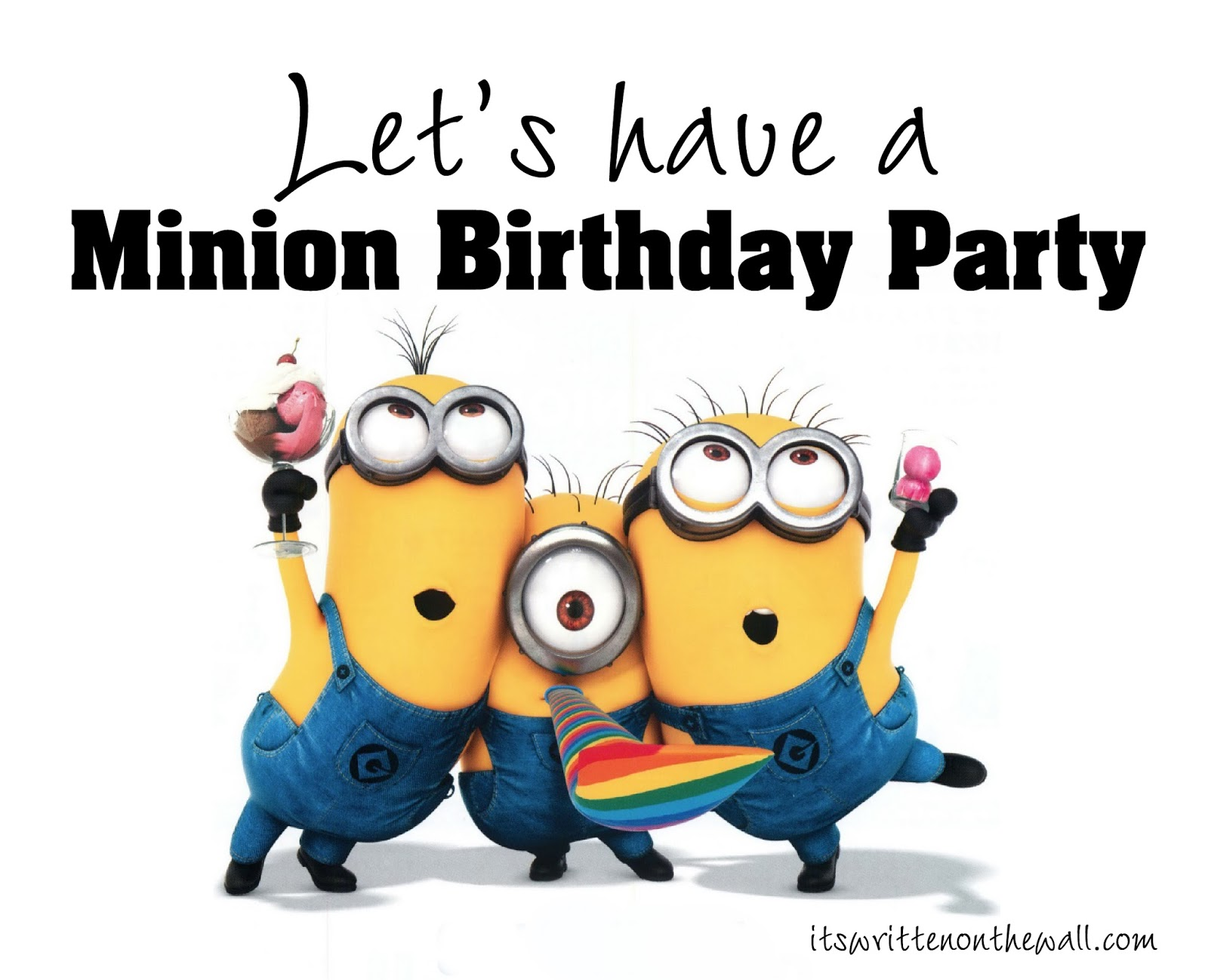Lovely Minions Birthday Ecards