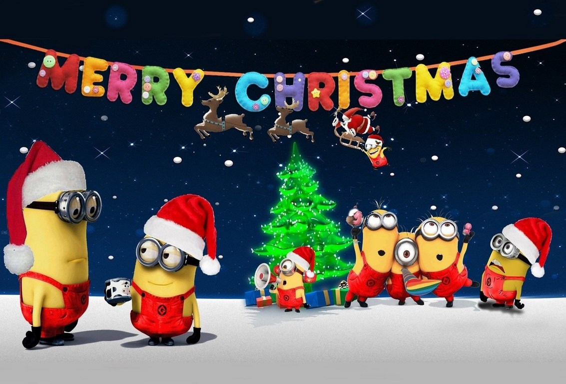 The Minions Christmas-Ecards