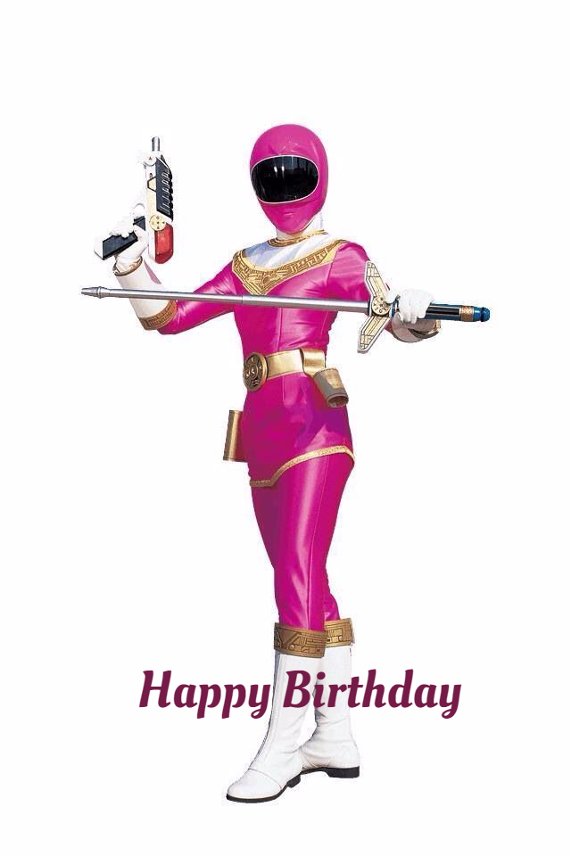 power rangers birthday