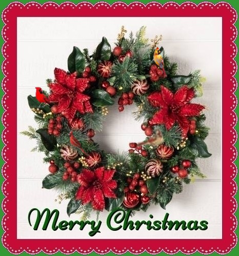 Christmas-Wreath ecards