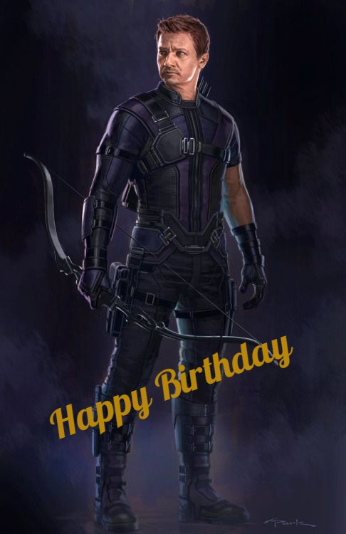 Hawkeye birthday cards