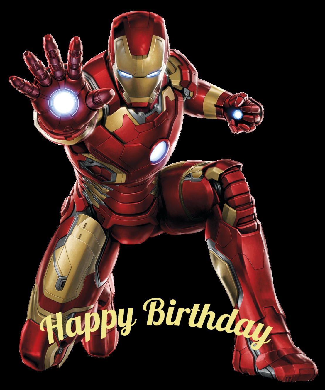 Iron-Manbd birthday cards