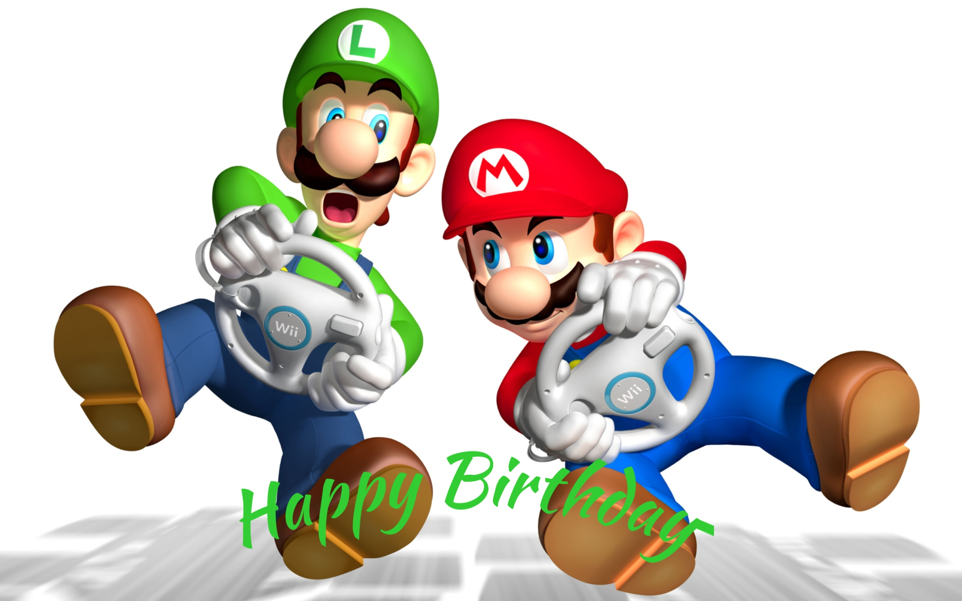 Mario and Luigi birthday