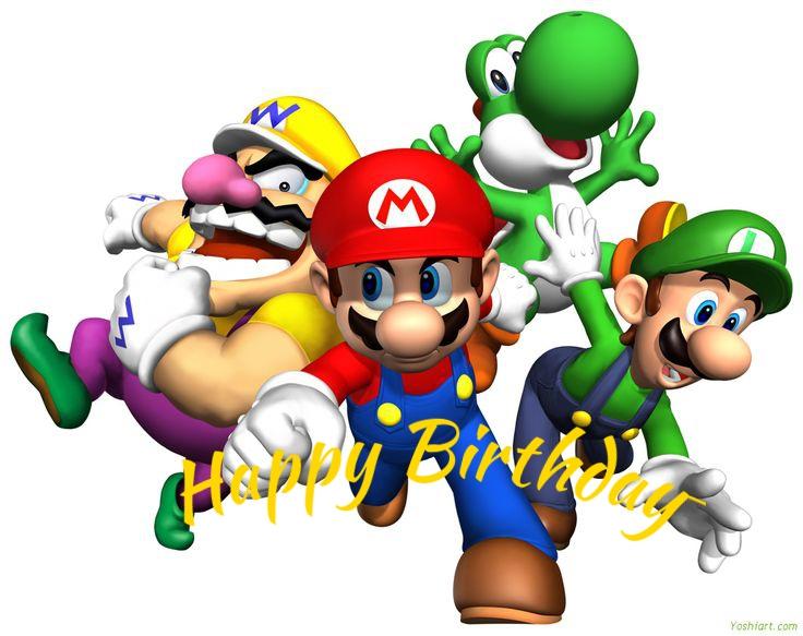 Mario and Luigi cards