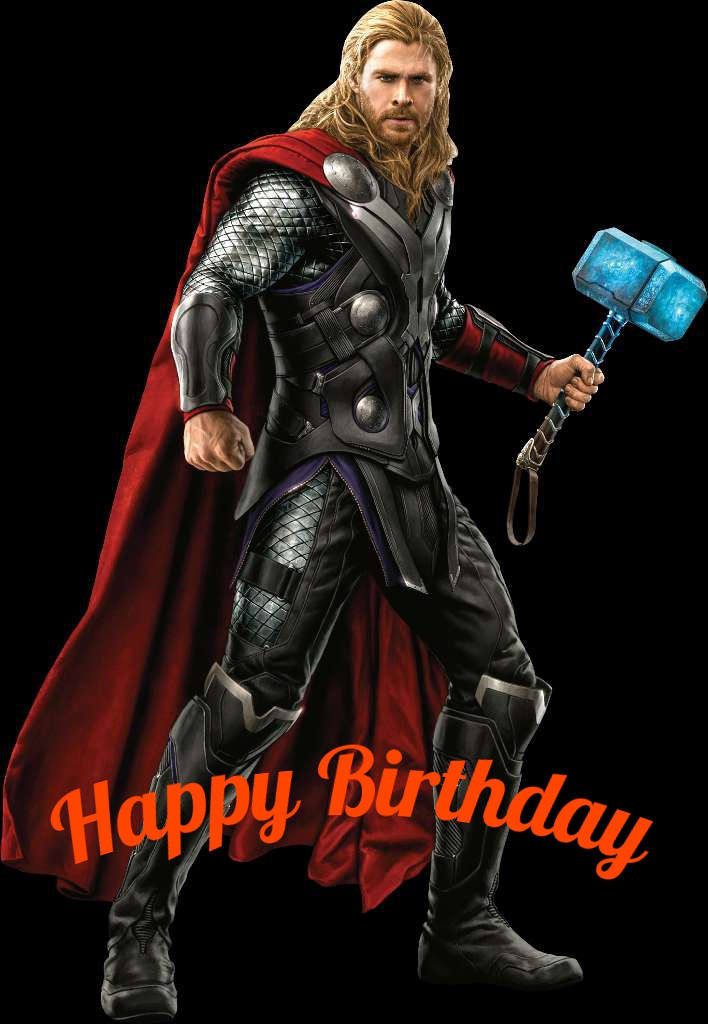 Thor birthday cards