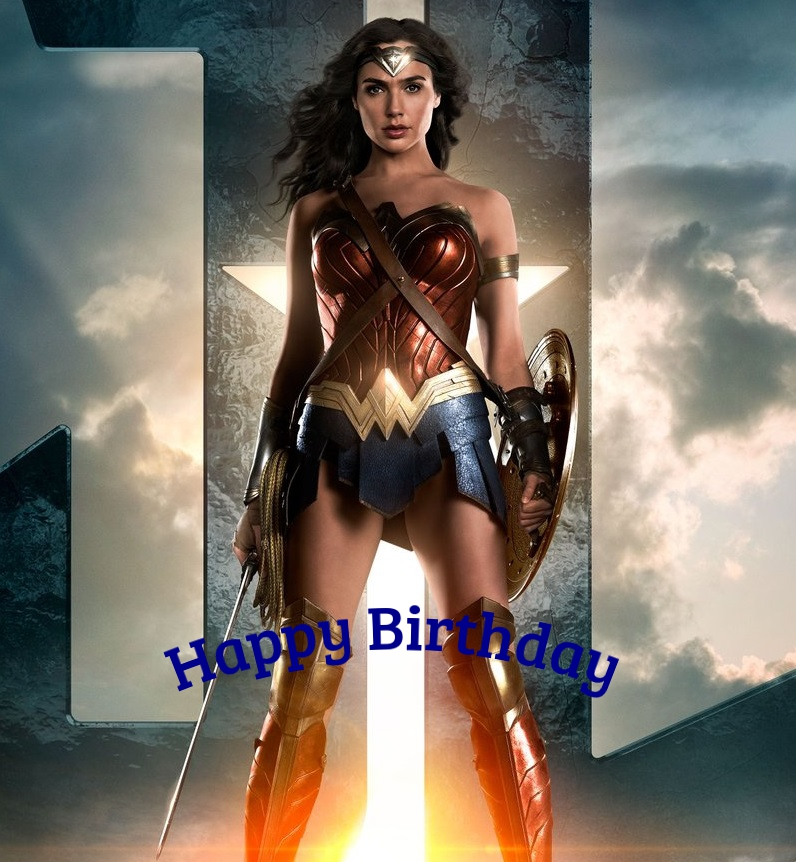 Wonder-Woman birthday