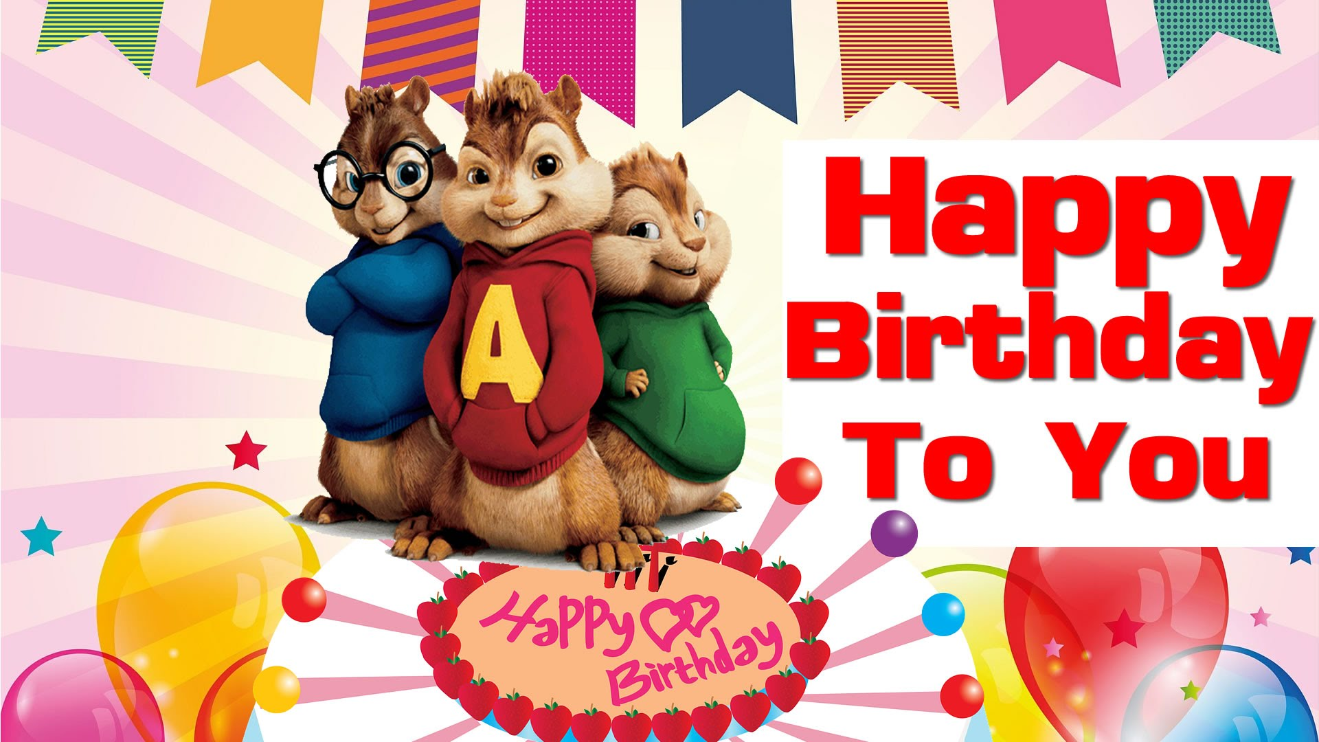 alvin-and-the-chipmunks birthday cards