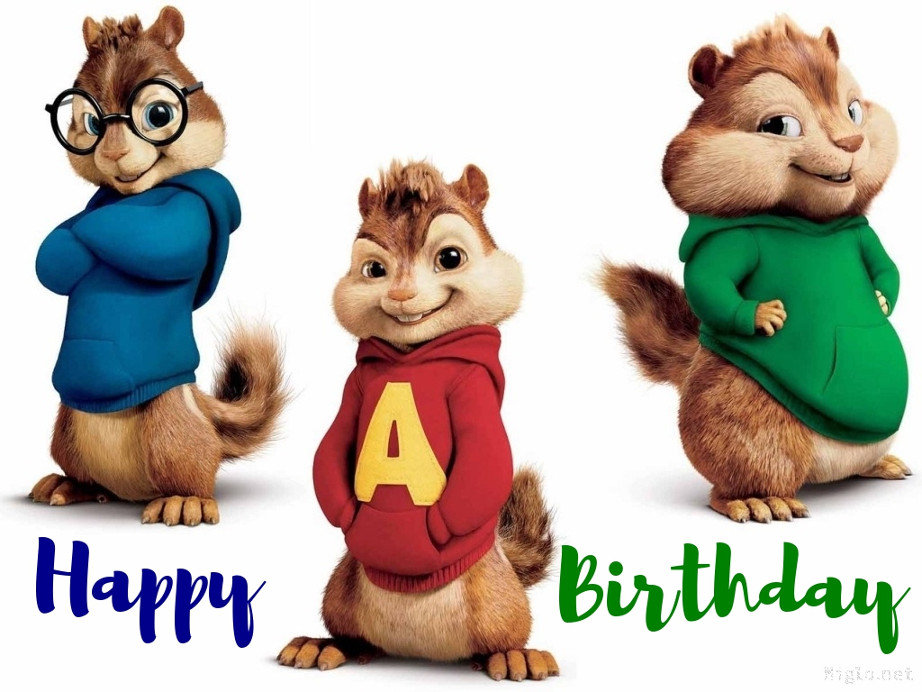 alvin and the chipmunks birthday cards