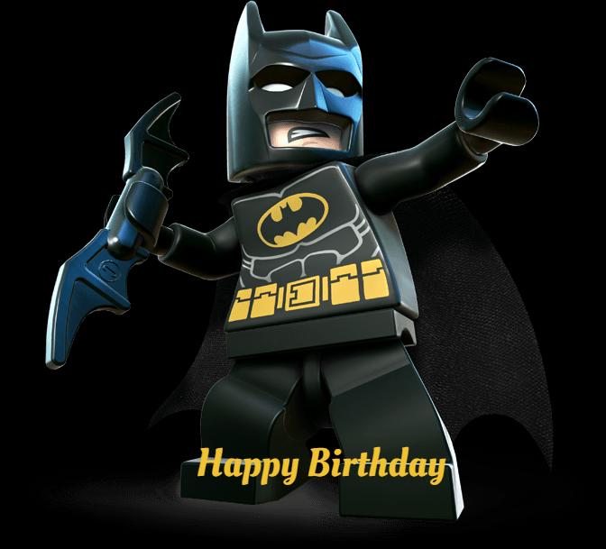 batman birthday cards