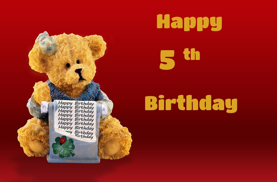 bears birthday cards