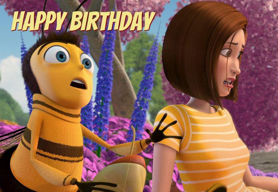 bee movie birthday cards