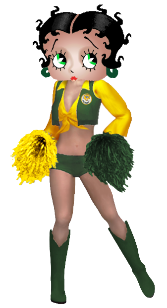 betty boop football cheerleaders ecards