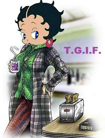 betty-boop-happy-friday cards