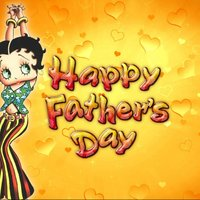betty boop Father's day cards