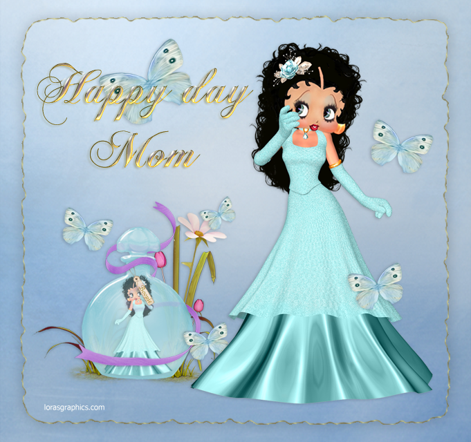 betty boop mothers day cards