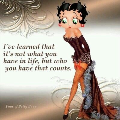 Betty Boop Sayings Cards