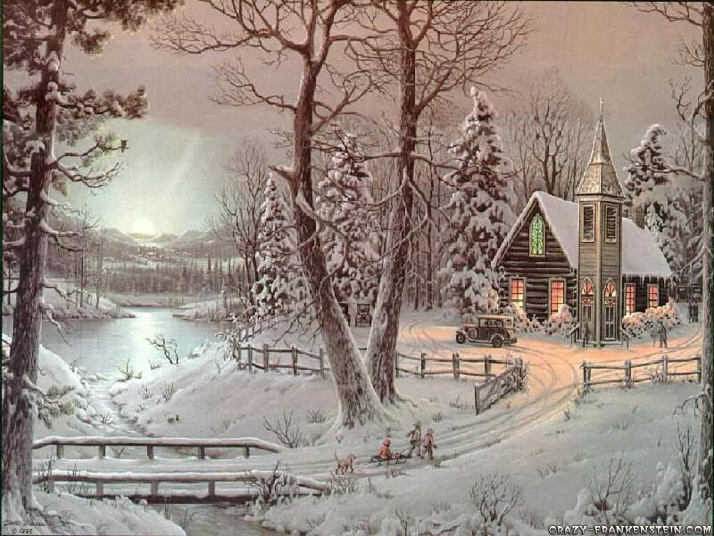 Картины на тему новый год