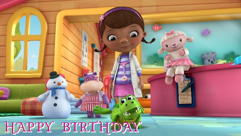 doc mcstuffins birthday cards