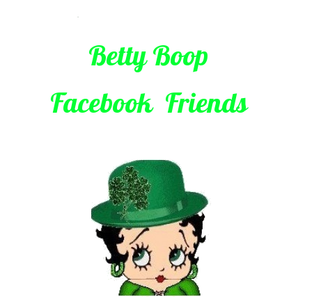 Betty Boop facebook Cards