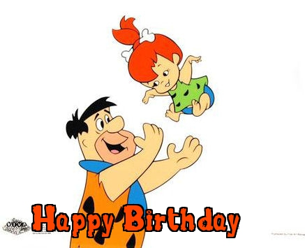 the flintstones birthday cards