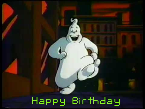 ghostbusters birthday