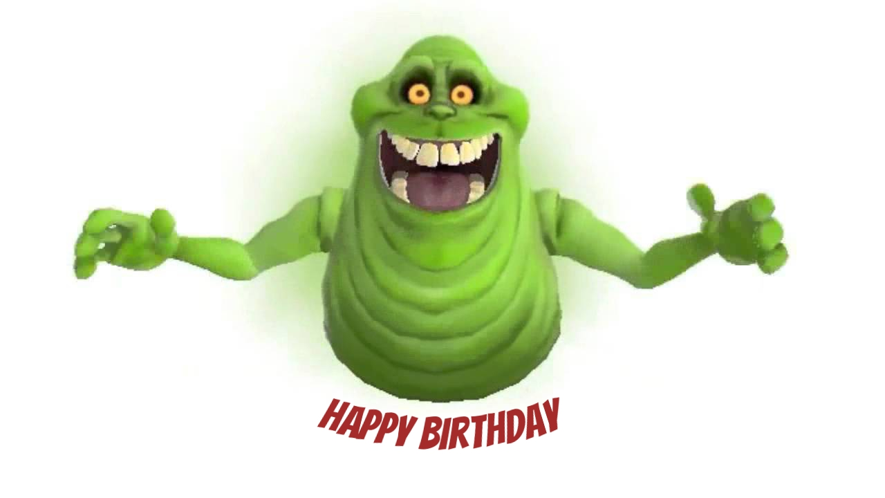 ghostbusters birthday