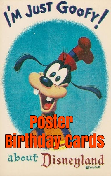 poster birthday cards