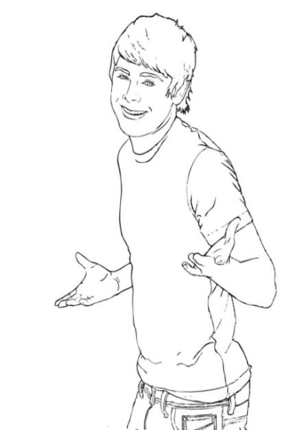 Coloring Pages For High School High school musical educational