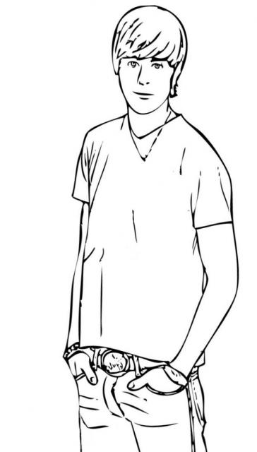 High School Musical Coloring Pages