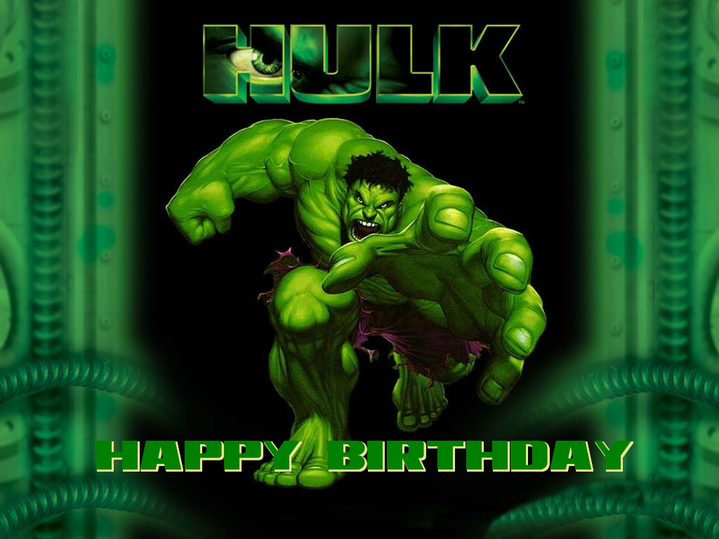 hulk birthday cards