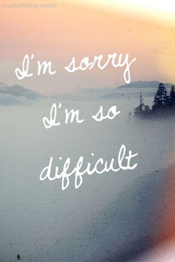 I'm sorry cards