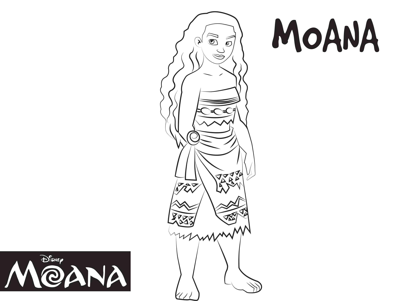 moana coloring-moana