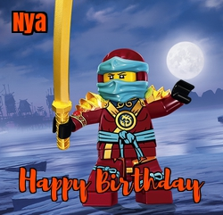 ninja-go birthday cards