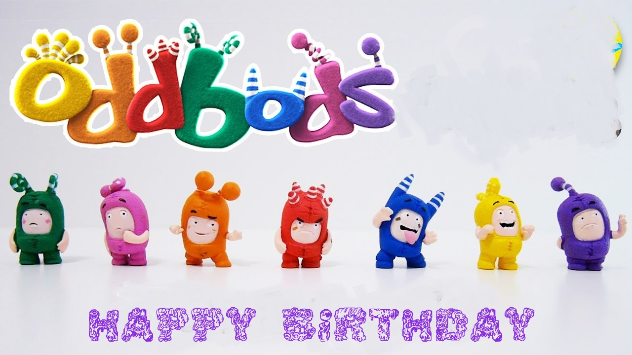 Oddbods Happy Birthday Cards