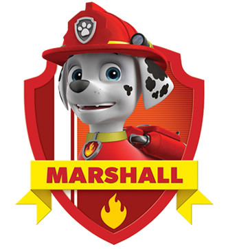 paw patrol marshall ecards