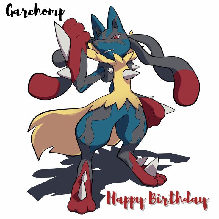 garchomp birthday cards