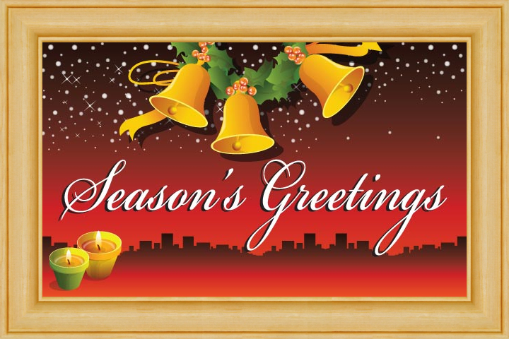 seasons greetings cards