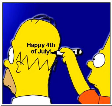 simpsons 4th of july
