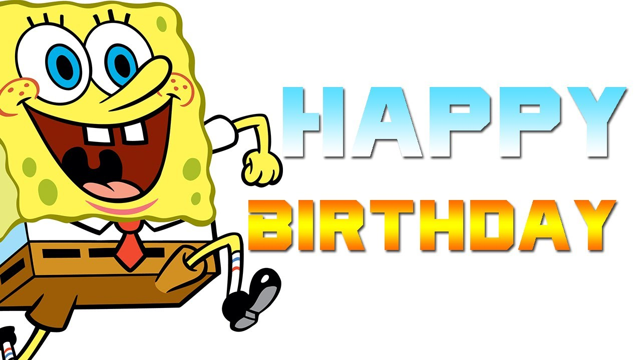 sponge bobbirthdayecards