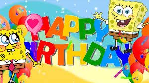 spongebob birthday