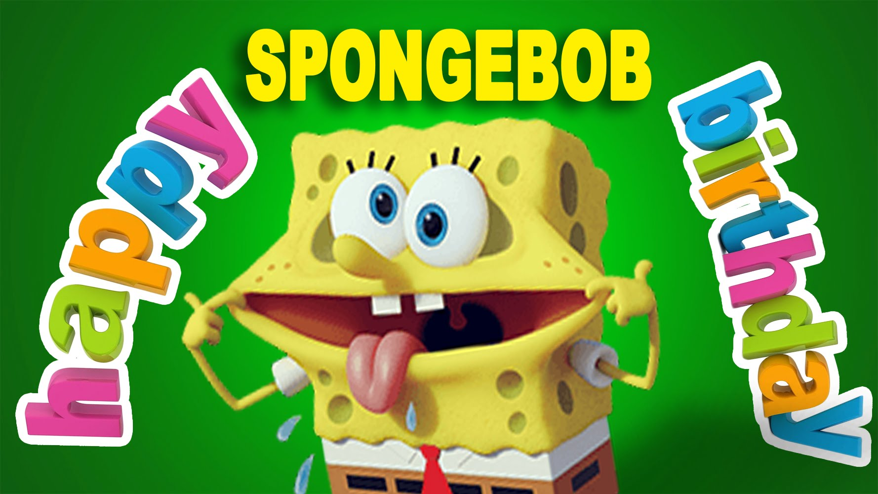 Free SpongeBob Birthday Greeting Cards
