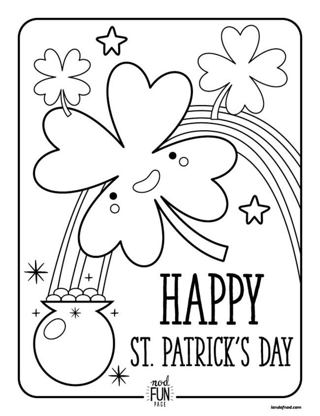 St.Patricks Coloring Pages