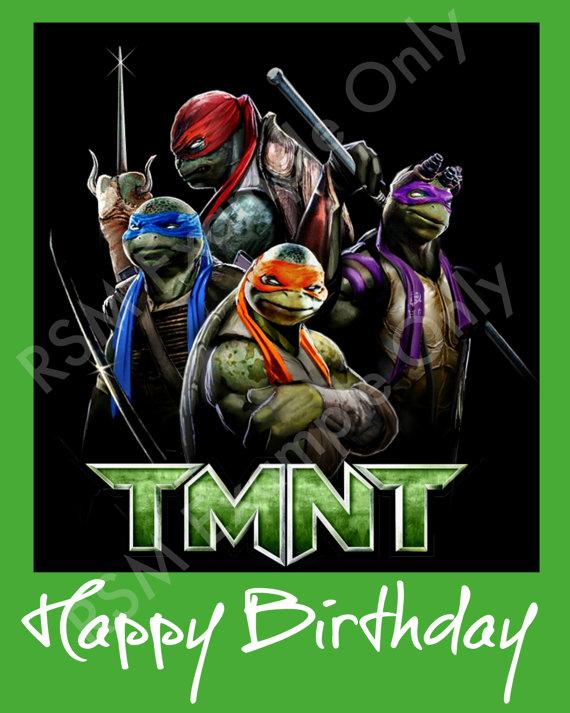 Teenage Mutant Ninja Turtle Birthday Ecards